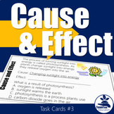 Cause and Effect Task Cards #3