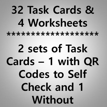 Cause and Effect Task Cards & Printables