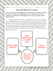 Cause and Effect Text Structure: Graphic Organizer Worksheets