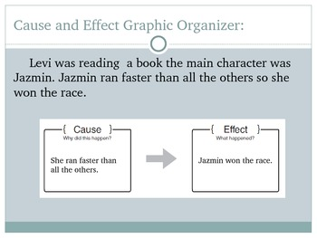 Cause and Effect Text Structure PowerPoint