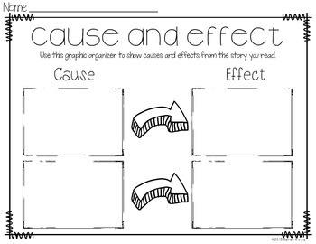 Cause and Effect: Two Peas in a Pod