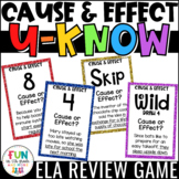 Cause and Effect Game for Literacy Centers: U-Know