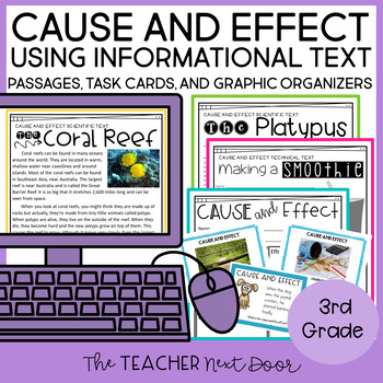 Cause and Effect Informational Text: 3rd Grade
