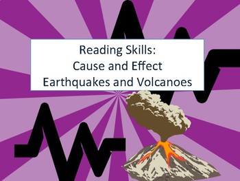 Cause and Effect: Volcanoes and Earthquakes
