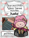 Cause and Effect Winter Freebie!