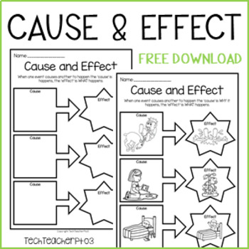 ** FREE DOWNLOAD ** Cause and Effect Worksheets