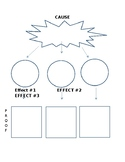 Cause and Effect Writing, Graphic Organizer
