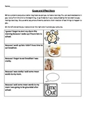 Cause and Effect Writing Story