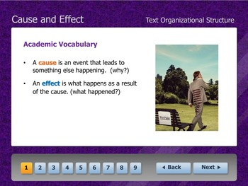 Cause and Effect eLearning Interactive Tutorial