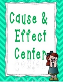 Cause and Effect for Centers - First Grade