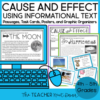 Cause and Effect Informational Text: 4th and 5th Grade