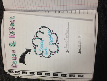 Cause and Effect interactive notebook final copy