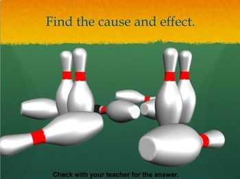 Cause and Effect introduction PowerPoint lesson and Interactive Quiz