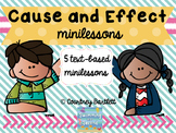 Cause and Effect minilesson pack