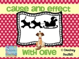 "Cause and Effect minilesson with ""Olive, the Other Reindeer"""