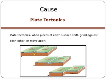 Cause and Effect of Volcanoes