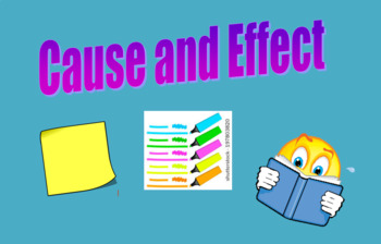 Cause and Effect practice- Using an article about dog sledding