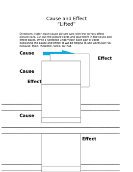 """Cause and Effect using Pixar Short """"Lifted"""""""