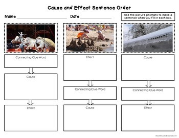 Cause and Effect Nonfiction Passages and Activities