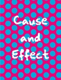 Cause and Effect with Linking Words Activity