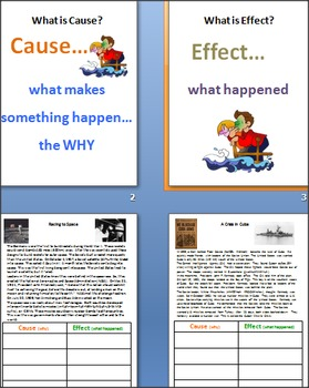 Cause and Effect with the COLD WAR