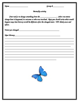 Cause and Effect common core writing worksheet