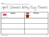Cause and Effect:April Showers-Common Core