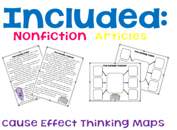 Cause and effect Reading Intervention Lesson