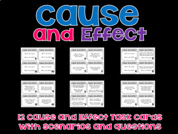Reading Comprehension Passages Cause and effect Lesson