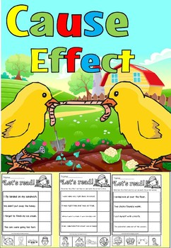 Cause and effect reading comprehension