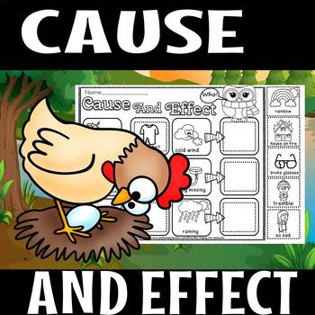 Cause and effect sample page