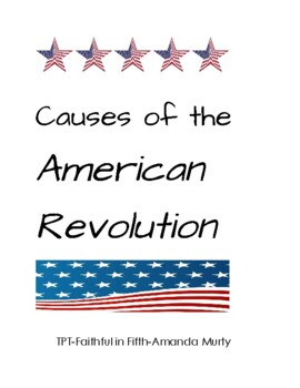 Cause of the American Revolution