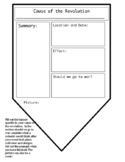 Causes of the Revolution Pennant Banner