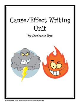 Cause/Effect Essay Unit with FCA's