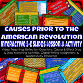 Causes & Effects of American Revolution   Interactive Slid
