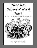 World War 2 Causes, World War II, WW2, WWII- Webquest