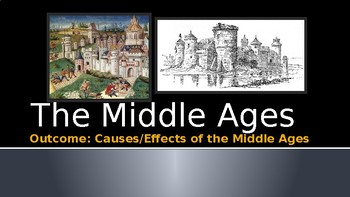 Causes and Effects of the Middle Ages PowerPoint Lecture