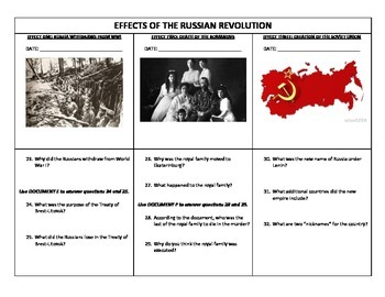 russian revolution worksheets kidz activities. Black Bedroom Furniture Sets. Home Design Ideas
