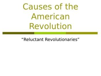 Causes of American Revolution