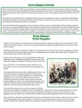 Causes of American Revolution: Boston Massacre - What Really Happened?