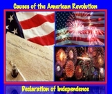 Causes of American Revolution: Declaration of Independence DBQ, The People Speak