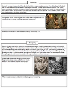 Causes of American Revolution: Natural Rights, Common Core Aligned