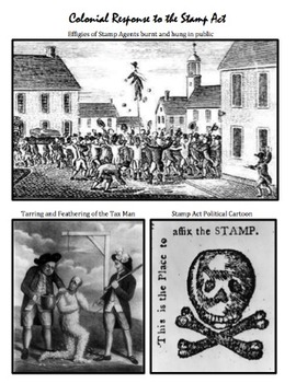 Causes of American Revolution: Stamp Act DBQ, Common Core Aligned