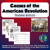 Causes of American Revolution Stations