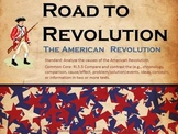Causes of American Revolutionary War PwrPt with cause and effect