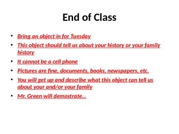 Causes of Civil War PowerPoint