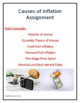 Causes of Inflation Assignment w/ Answer Key