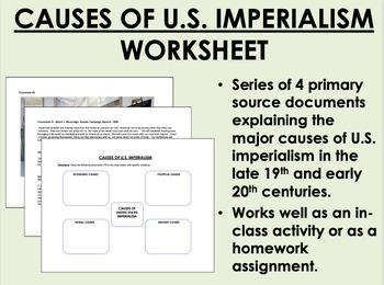 Causes of U.S. Imperialism Documents - USH/APUSH
