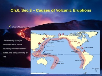 Causes of Volcanic Eruptions