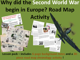 Causes of WW2 - 8-page full lesson (notes, road map chronology activity)